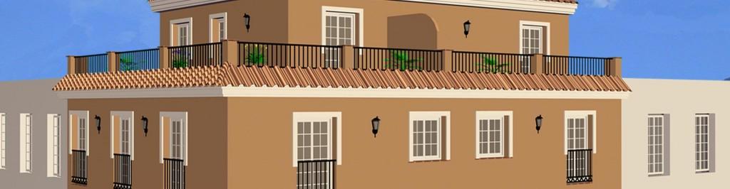 Edificio padr n lopado arquitectura for Oficina padron malaga