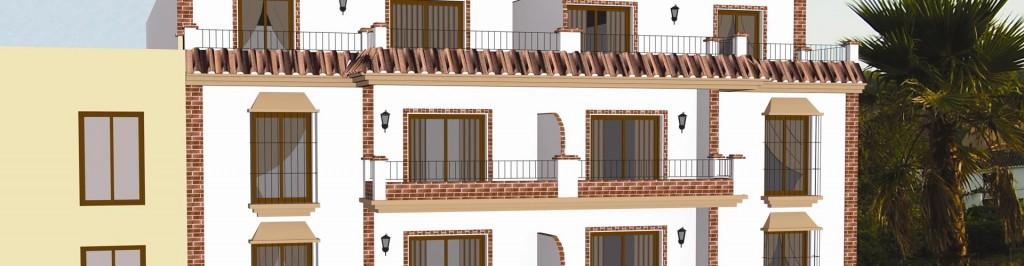 Inhalor lopado arquitectura for Oficina padron malaga